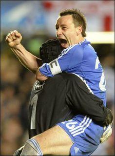 Petr Cech & John Terry...