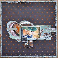 Kaisercraft Jan - True Love - Love You Belinda Spencer