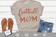 Football Shirt Designs, Football Mom Shirts, Football Boys, Sports Shirts, Sports Mom, Vinyl Shirts, Lettering Design, Cricut, Graphic Sweatshirt