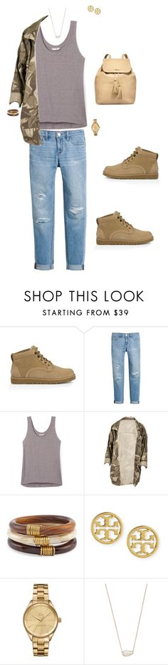 """Uggs"" by ccoss on Polyvore featuring UGG Australia, White House Black Market, Rebecca Minkoff, Chico's, Tory Burch, Lacoste, Kendra Scott and thisisugg"