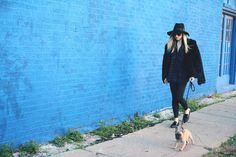 Leather Leggings and Fur - High End Hippie