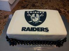 My Raiders cake