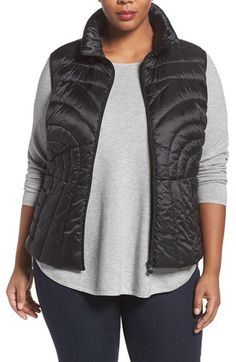 Bernardo Bernardo Down & PrimaLoft® Vest (Plus Size) available at #Nordstrom