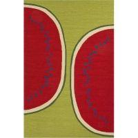 Grant Design Indoor-Outdoor Rug / Watermelon