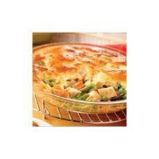 Campbell's Kitchen Easy Chicken Pot Pie: http://www.yummly.com/recipe/Campbell_s-Kitchen-Easy-Chicken-Pot-Pie-Allrecipes