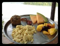 Real food while camping.  Meal ideas and food lists