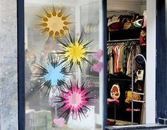 Window Sticker Colourful Fireworks window film window tattoo glass sticker window art window décor window decoration window picture Dimensions: 39.4 x 63.8 inches -- Be sure to check out this awesome product. (This is an affiliate link) #WindowStickersandFilms