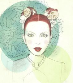 Garbage Shirley Manson, Crushes, Embroidery, Art Prints, My Love, Lady, Drawings, Illustration, Art Impressions