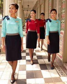 Tie Up Stories, Chef Dress, Hotel Uniform, Salon Uniform, Airline Uniforms, Flight Attendant Life, Work Uniforms, Uniform Design, Cabin Crew