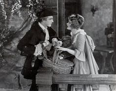 John Barrymore & Dolores Costell (his third wife) in When a Man Loves (1927) - silent
