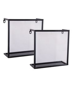 Take a look at this Shadow Box Shelf Set today!