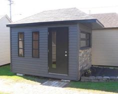 cabanon 206-6 Shed, Outdoor Structures, Gardens, Lean To Shed, Backyard Sheds, Sheds, Coops, Barn, Tool Storage
