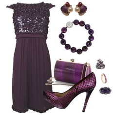 """Eggplant"" by bethherrmann on Polyvore"