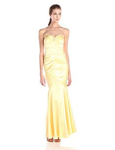 A satin gown is the ultimate in prom elegance. Enough said.