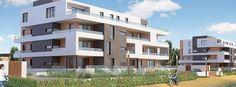 Obernai :   Ces deux résidences de 17 et 19 logements bénéficient d'un emplacement privilégié face au parc avec vue sur le Mont Sainte-Odile.   Référence: Les Allées du Parc AL302   #Obernai #IGPIMMOBILIER