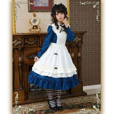 Maid Outfit, Maid Dress, Mori Girl Fashion, Lolita Fashion, Butler Outfit, Mode Lolita, Maid Cosplay, Japanese Street Fashion, Harajuku Fashion