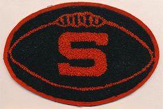 Vintage Syracuse University Football Varsity Jacket Patch #PreppySyracuse