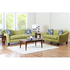 Kris Living Room Set (Halo Basil)