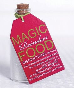 Look what I found on #zulily! Magic Reindeer Food' Tag: PackID 78329 #zulilyfinds