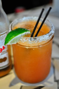 The Michelada        12 oz beer non-dark beer (preferably Mexican like Corona or Dos XX)      juice of 2 key limes      1 teaspoon Worcestershire sauce      2 dashes Tabasco® sauce      1 pinch black pepper      1 pinch sea salt      ice