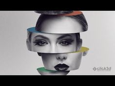(1376) Sliced head - Photo Manipulation Tutorial | click3d - YouTube