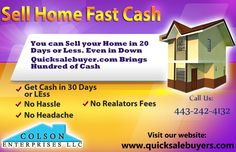 Sell Home Fast Cash
