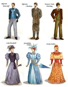 the importance of being earnest costumes   The Importance of Being Earnest by ObsidianPyre