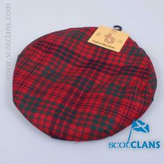 Ross Tartan Cap. Free Worldwide Shipping Available