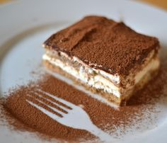 Receita de tiramisu italiano. #receitas #comida #sobremesas