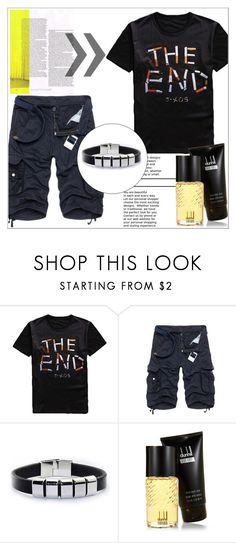 """""""Rosegal 71/ II"""" by emina-095 ❤ liked on Polyvore featuring Dunhill, men's fashion, menswear, polyvoreeditorial and rosegal"""
