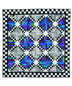 Wizard's Chess quilt by Bountiful Heirlooms.  McCall's Quick Quilts June-July 2017