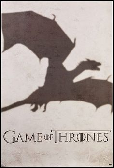 Game of Thrones Dragon Shadow Poster $9.99