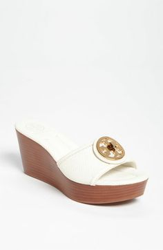 Tory Burch 'Selma' Wedge Sandal available at #Nordstrom