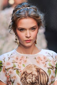Dolce and Gabbana Spring 2014-oh I hope this is the look for Spring -soft and romantic!!