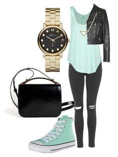 """Untitled #98"" by amna-hakeem on Polyvore featuring Topshop, Rip Curl, Yves Saint Laurent, Converse, Givenchy, Marc by Marc Jacobs and Banana Republic"