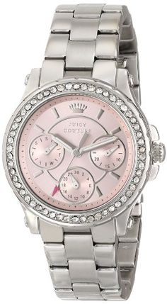 Women's Wrist Watches - Juicy Couture Womens 1901104 Pedigree MultiEye Crystal Bezel Watch >>> More info could be found at the image url. (This is an Amazon affiliate link)