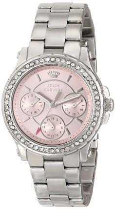 Juicy Couture Women's 1901104 Pedigree Multi-Eye Crystal Bezel Watch