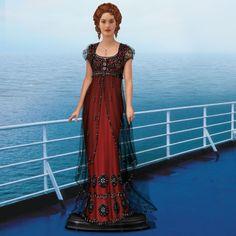 "Kate Winslet as ""Rose,"" The Titanic Portrait Doll - The Danbury Mint"