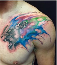 the best tatto lion - Buscar con Google