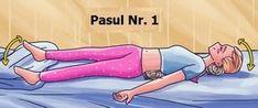 Oplatí sa vyskúšať, skutočne to dokáže pomôcť! Back Relief, Tighten Loose Skin, Back Muscles, Anti Stress, Natural Medicine, How To Fall Asleep, Health Fitness, Workout, Remover