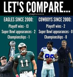 A friendly reminder on Mother's Day that the Cowboys have been trash for over 2 decades. What has led to the Cowboys lack of success for this long of a time period? flyeaglesfly cowboysnation Courtesy of Nfl Jokes, Funny Football Memes, Sports Memes, Nfl Sports, Go Eagles, Philadelphia Eagles Football, Philadelphia Sports, Historic Philadelphia