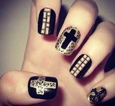 Resultado de imagen para diseño de uñas rockeras