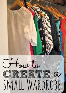 Have you always wanted to trim down your wardrobe but never got up the nerve?  This post will  give you tips on getting it done!