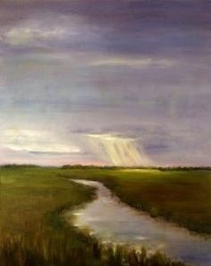 Marsh Light Savannah, GA artist Joseph Ebberwein