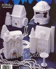 Crochet Village $ Inspiration for christmas
