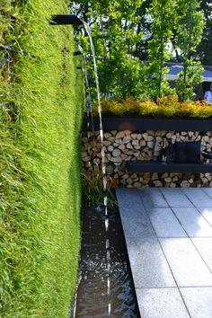 gabion grass wall