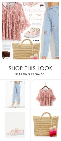 """Picnic in the Park"" by pokadoll ❤ liked on Polyvore featuring Sensi Studio"