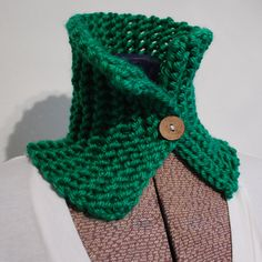 Green Neck Warmer by rockandsew on Etsy, $10.00