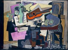 Pablo Picasso Still Life, 1918 Chester Dale Collection © 2012 Estate of Pablo Picasso/Artists Rights Society (ARS), New York Time Painting, Painting Still Life, Artist Painting, Pablo Picasso Drawings, Picasso Art, Georges Braque, Picasso Still Life, Cubist Paintings, Watercolor Paintings