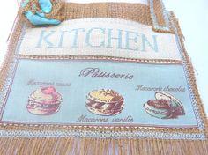 Jute decoration kitchen  French Kitchen by CrossStitchElizabeth